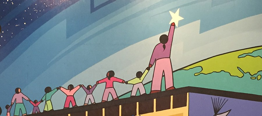 Mural celebrates our school community