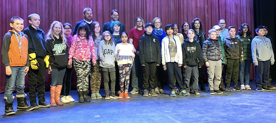 Brownell students honoured with Living in Harmony Award