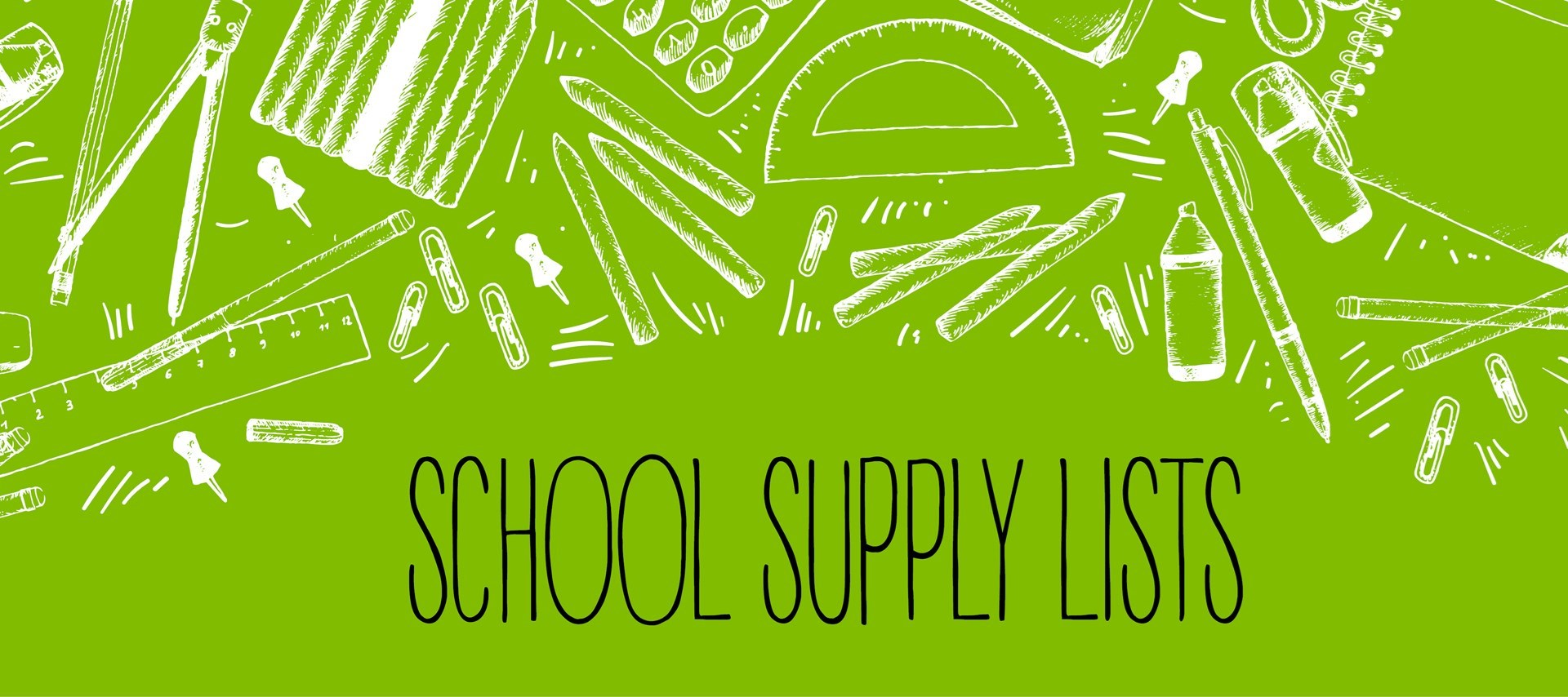 Caswell Community School Supply Lists