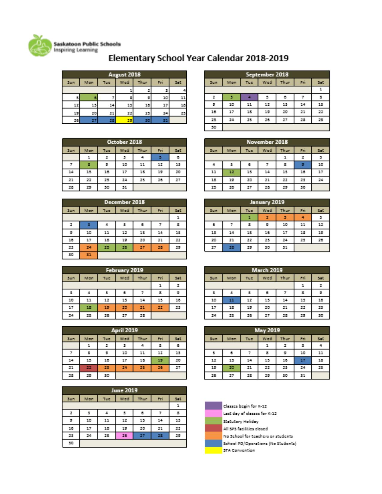 a45fee0a96528b Calendar - Colette Bourgonje School