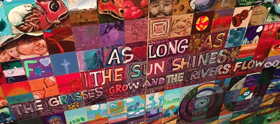 Mural project shares student learning through art
